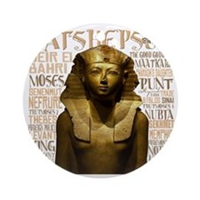 Hatshepsut Thumb Round Ornament