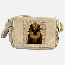 Hatshepsut Thumb Messenger Bag