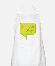 May due date BBQ Apron