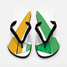Irish Bowtie Tudexo Flip Flops