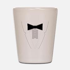 Funny Black Tie Tuxedo Shot Glass