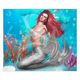 Magic mermaid King Duvet Covers