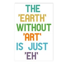 The Earth Without Art Postcards (Package of 8)