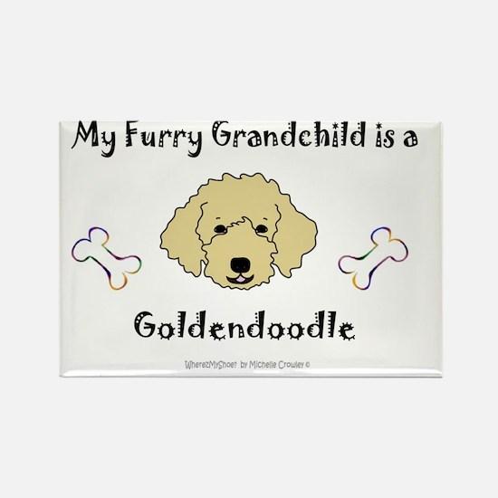 goldendoodle Rectangle Magnet