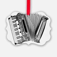 Accordian Dark Ornament