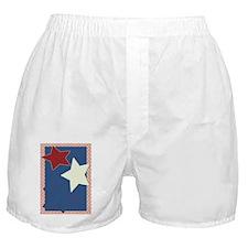 America Clipboard Boxer Shorts