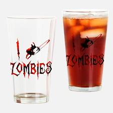 i chainsaw zombies dark Drinking Glass