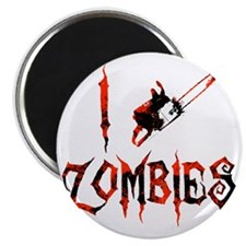i chainsaw zombies dark Magnet