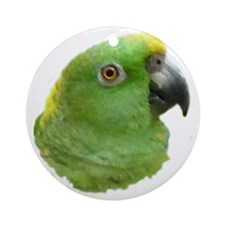 Rio the Amazon Parrot Round Ornament