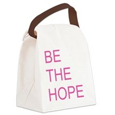 Be the Hope Canvas Lunch Bag