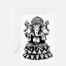 Ganesh - Hindu Diety/God Greeting Card