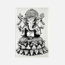 Ganesh - Hindu Diety/God Rectangle Magnet
