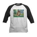 Bridge-Aussie Shep #4 Kids Baseball Jersey