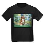 Bridge-Aussie Shep #4 Kids Dark T-Shirt
