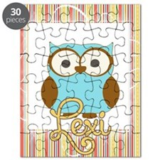 Striped Owl Lunch bag Puzzle