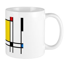 Mondrian Lines Small Mug