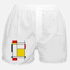 Mondrian Lines Boxer Shorts