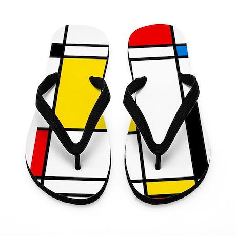 Mondrian Lines Flip Flops