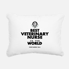 Best 2 Veterinary Nurse copy Rectangular Canvas Pi