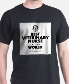 Best 2 Veterinary Nurse copy T-Shirt