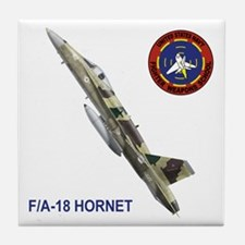 US Navy Fighter Weapons Schoo Tile Coaster