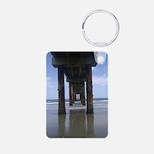 Anastasia Island Pier Keychains