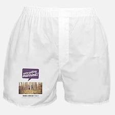 68-purplebubble Boxer Shorts