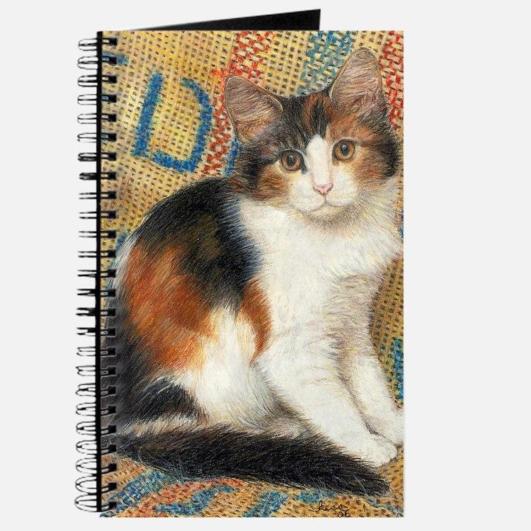 Calico Kitten Cat Journal