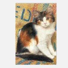 Calico Kitten Cat Postcards (Package of 8)