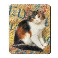 Calico Kitten Cat Mousepad