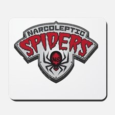 Narcoleptic Spiders Mousepad