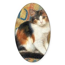 Calico Kitten Cat Decal