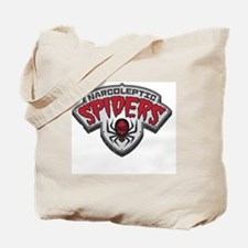 Narcoleptic Spiders Tote Bag