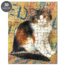 Calico Kitten Cat Puzzle