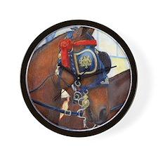 Cleveland Bay Horse Wall Clock