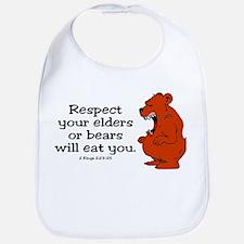 Respect Elders Bib