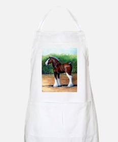 Clydesdale Draft Horse Apron