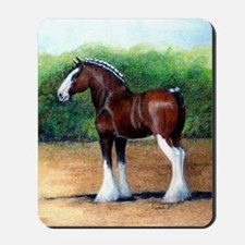 Clydesdale Draft Horse Mousepad