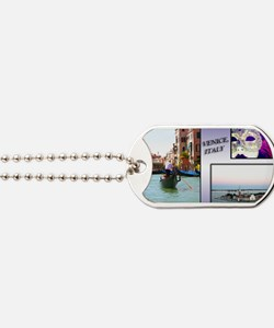Views Of Venice Italy Dog Tags