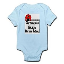Grampa's Little Farm Hand Infant Bodysuit