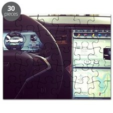 Gangster interior of a #tesla Puzzle