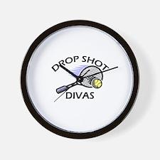 Drop Shot Divas 2 Wall Clock
