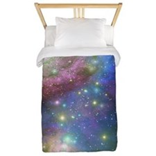 Outer Space stars Twin Duvet