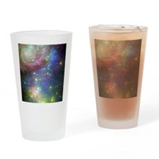 Outer Space stars Drinking Glass