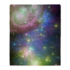 Outer Space stars Throw Blanket