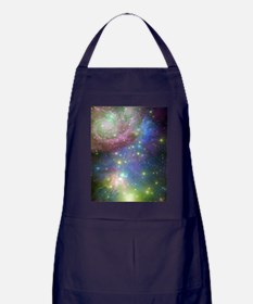 Outer Space stars Apron (dark)