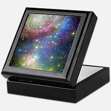 Outer Space stars Keepsake Box