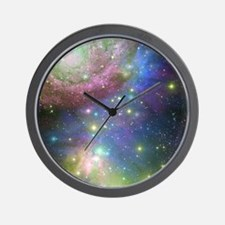 Outer Space stars Wall Clock