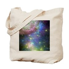 Outer Space stars Tote Bag