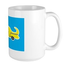 Labrador Taxi Coffee Mug